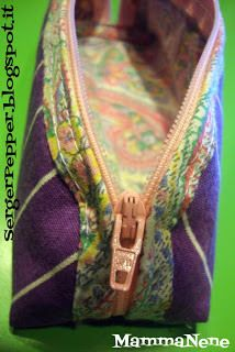 A Post from the Past - Pencil Case FREE pattern: SergerPepper.com #blogboost