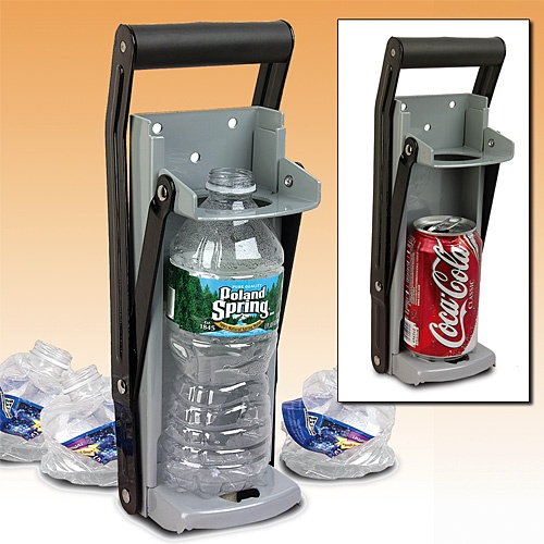 Can Amp Plastic Bottle Crusher Recycle Products I Love