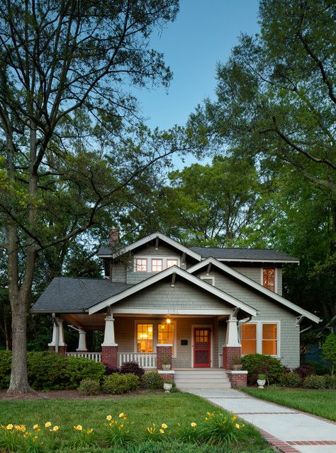406 best images about historic craftsman bungalow on for Craftsman homes in charlotte nc