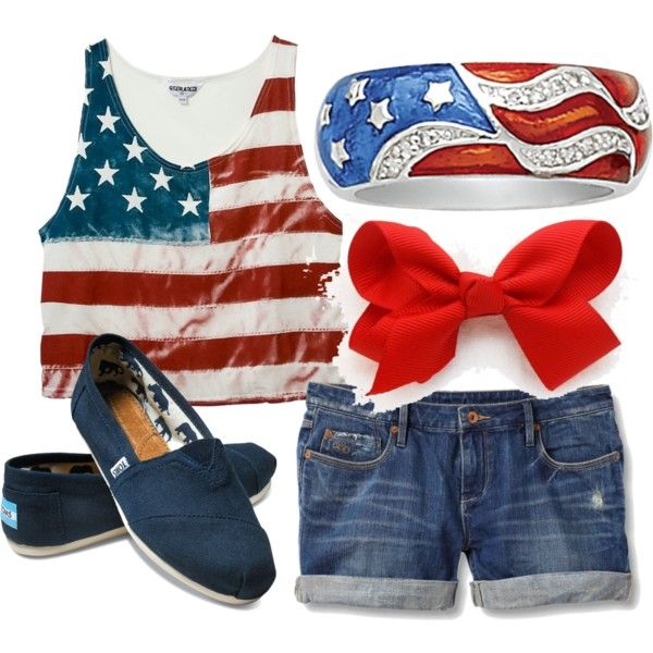 cute 4th of july outfits polyvore