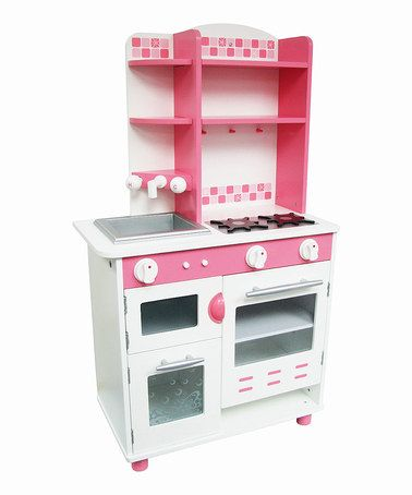 Take a look at this World Trump Pink Play Kitchen by Toy Kitchen Collection on #zulily today!