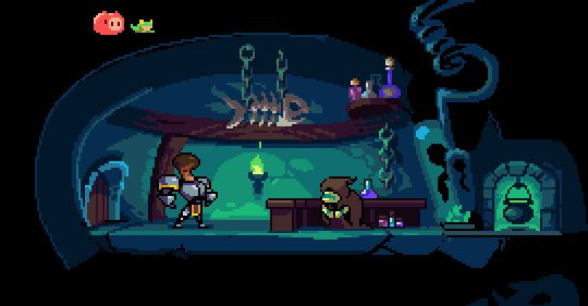 #pixelart #gamedev #IndieDevHour #screenshotsaturday @ebaraf & Ι working on PotionSeller You can't handle our potions