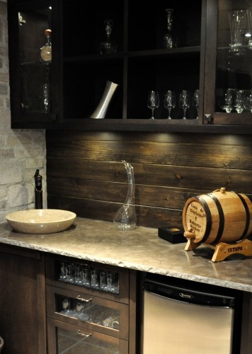 wood backsplash on pinterest home kitchen and backsplash ideas