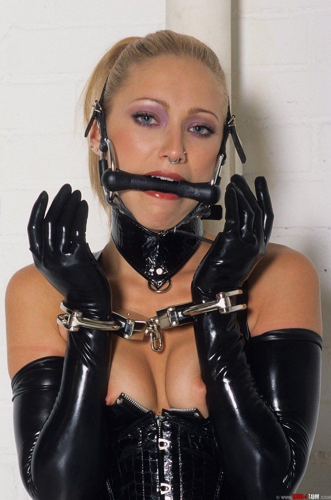 Fur fetish and bondage