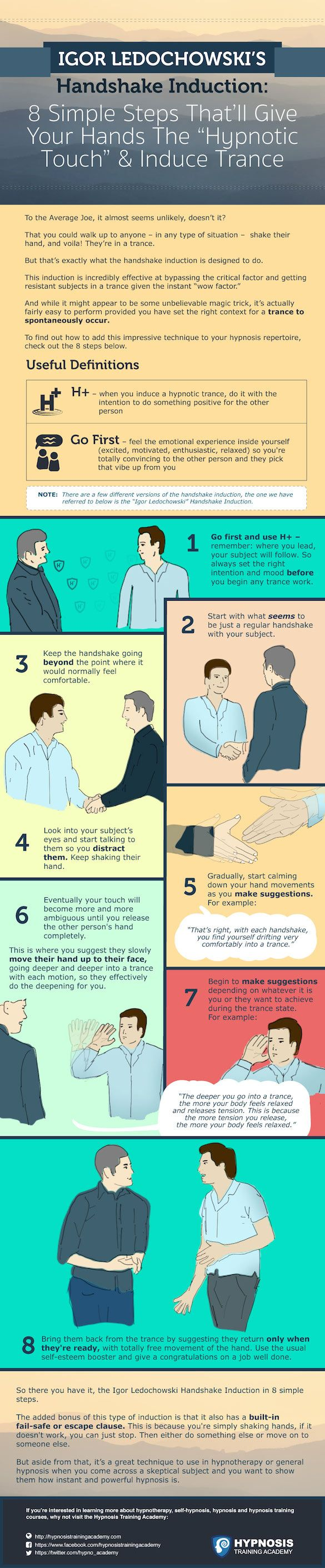 """Igor Ledochowski's Handshake Induction: 8 Simple Steps That'll Give Your Hands The """"Hypnotic Touch"""" & Induce Trance"""