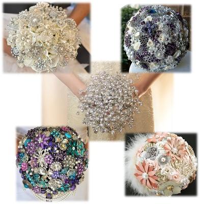 Bouquets Lov, Flowerless Wedding Bouquets, Wedding
