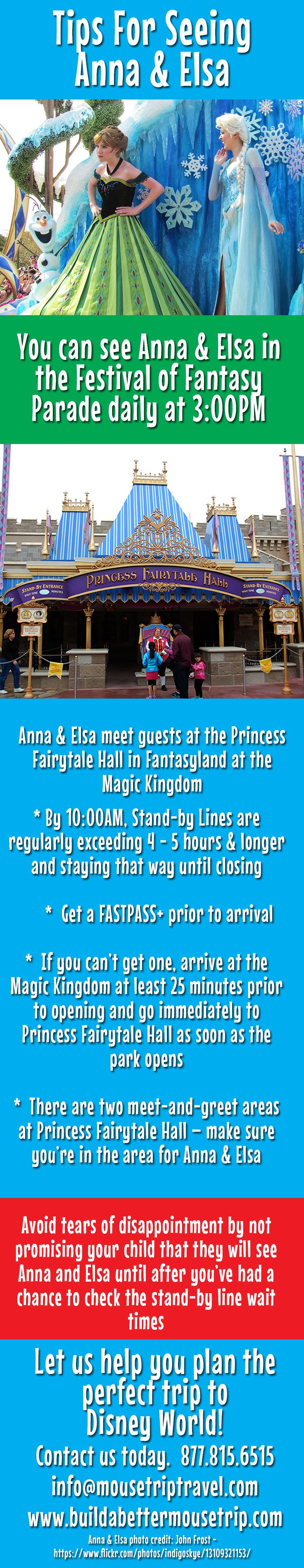 Tips for meeting Anna & Elsa (and other princesses too)!
