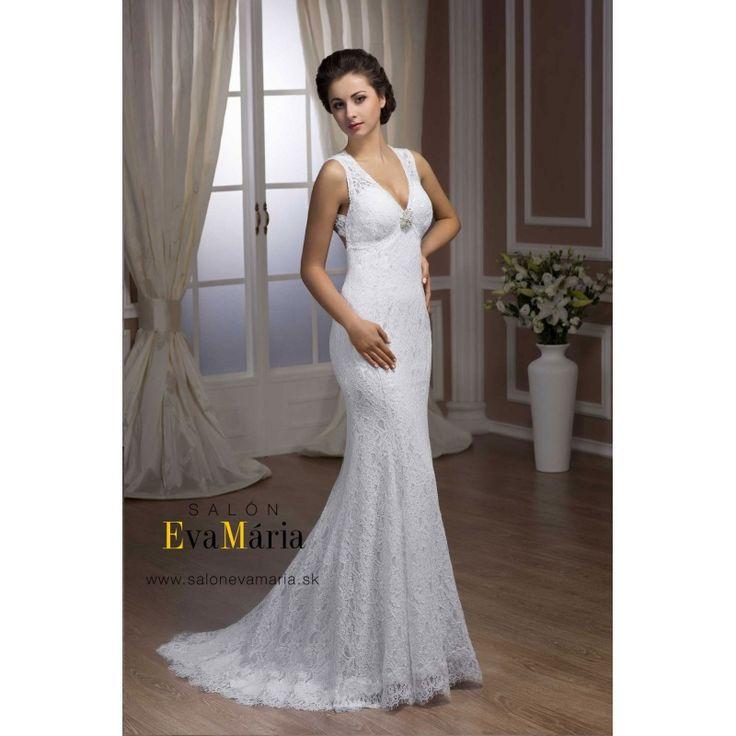 Biele svadobné šaty Vega