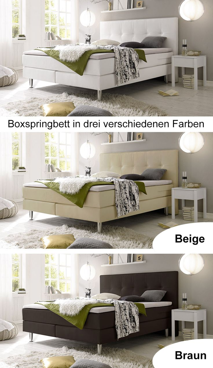 116 best images about boxspringbetten on pinterest - Boxspringbetten Modern