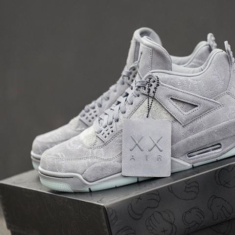 faa48f33c0ce The  KAWS x Nike Air Jordan 4 Retro is in stock at kickbackzny.com with  worldwide shipping options.  Sneakers