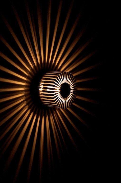 Wall light modern sconce light design sun wall lamp aluminium 20 watt 5215