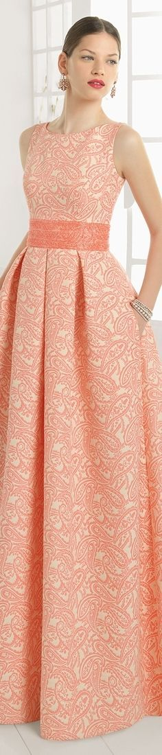 @roressclothes closet ideas #women fashion outfit #clothing style apparel coral dress