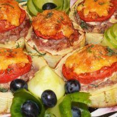 Фаршированный кабачок с фаршем в духовке: пошаговый рецепт (с фото)