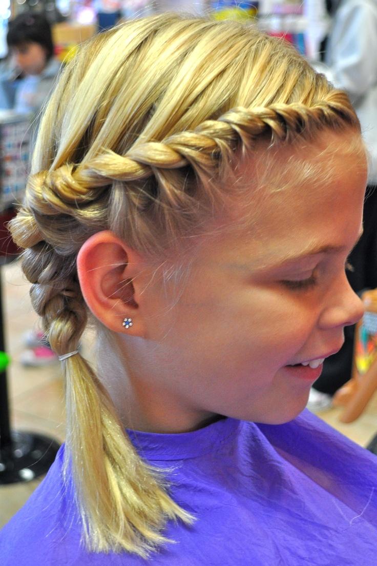 rope braid; children styles
