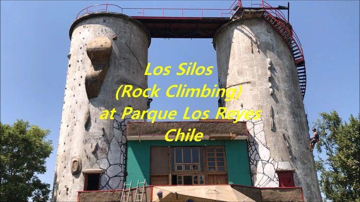 Los Silos (Rock Climbing) at Parque Los Reyes in Santiago, Chile