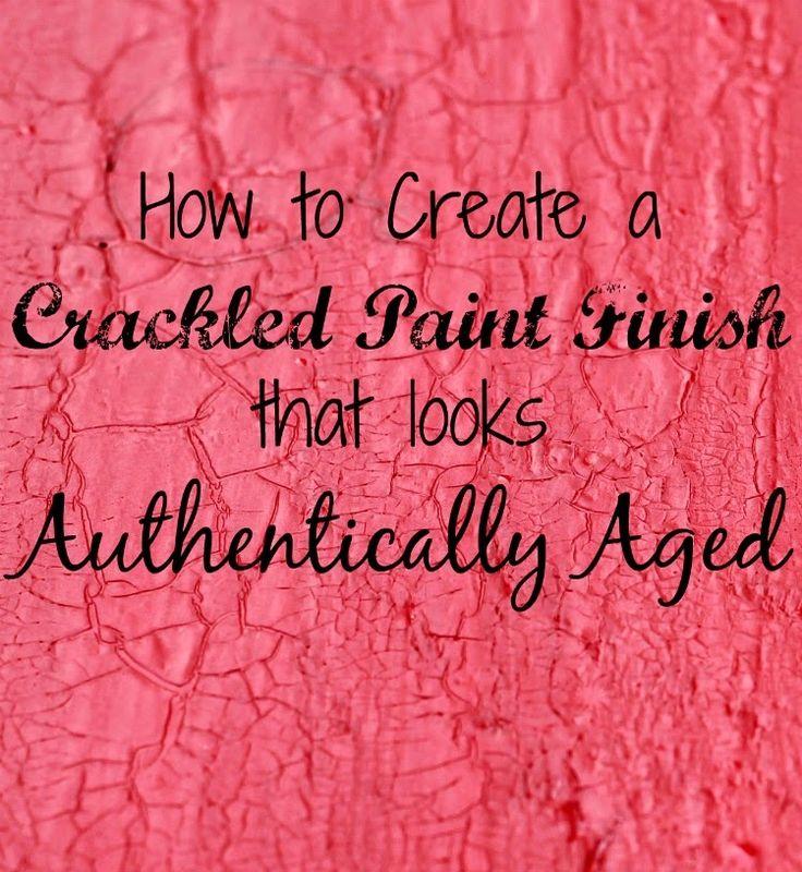 Best 20 Crackle Painting Ideas On Pinterest Crackle