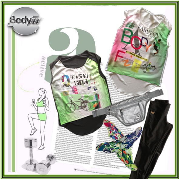 Set BodyFit para que le des un toque de estilo a tu look deportivo.