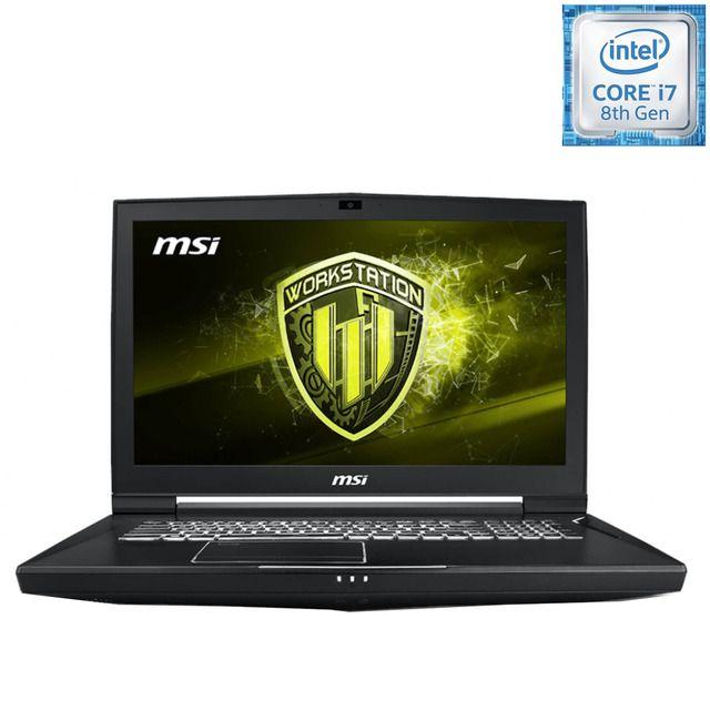 Msi Portatil Gaming Msi Wt75 8sl 009es I7 32gb 256gb Ssd