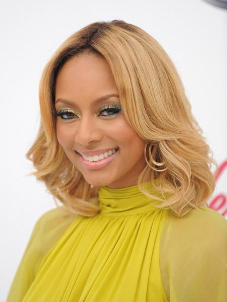 Prime Keri Hilson Blonde Medium Length Hairstyle Hair Pinterest Short Hairstyles For Black Women Fulllsitofus