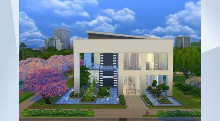 ¡Mira este solar en la galería de Los Sims 4! - A modern spacious family mansion home ideal for the celebrity 4 beds 5 Baths and a Gym.. fully furnished and decorated.  #modern #sexy #mansion #home #celebrity #family Please do not re upload thanks.