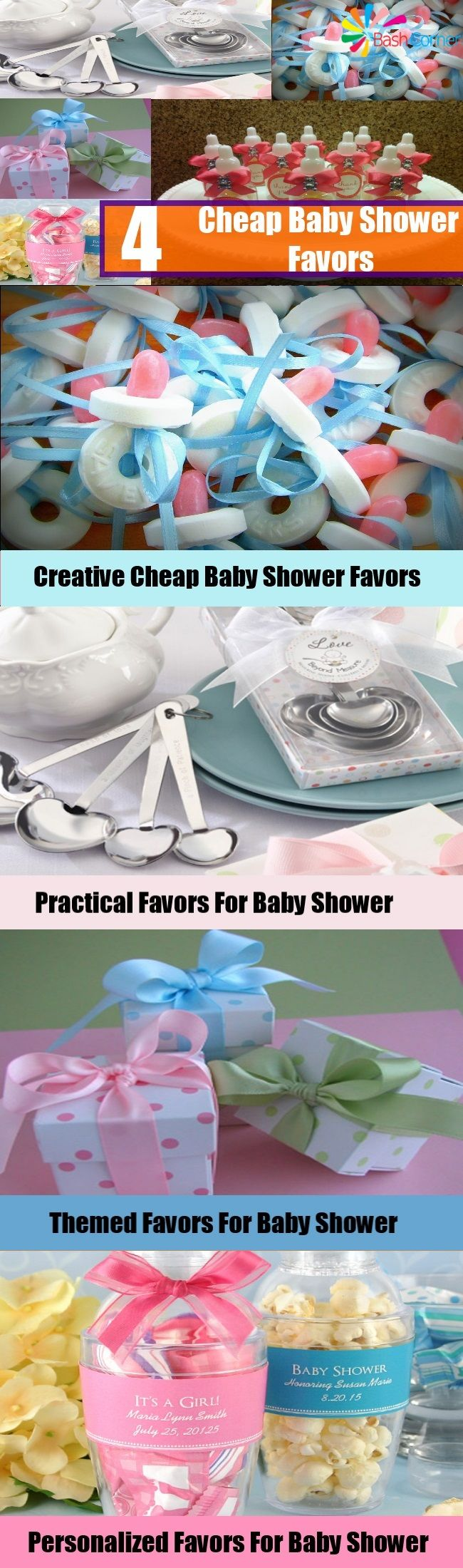 Do You Know About Inexpensive Baby Shower Favors?Try These Ideas