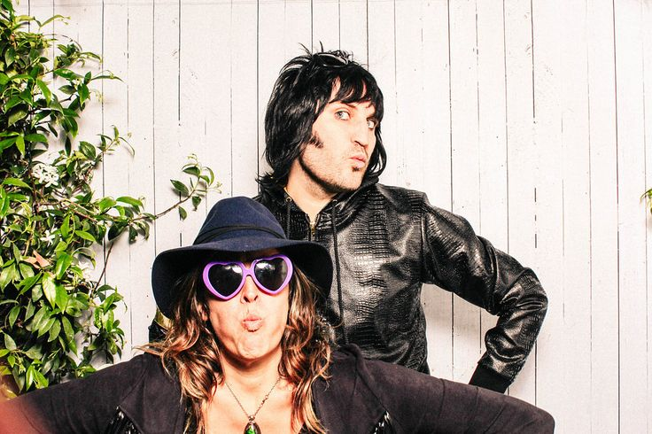 """""""Spangly rockstar comedian Noel Fielding and cool rockstar radio presenter girlfriend Lliana Bird joined us in the booth this summer to provide a brief masterclass in professional booth tomfoolery...."""