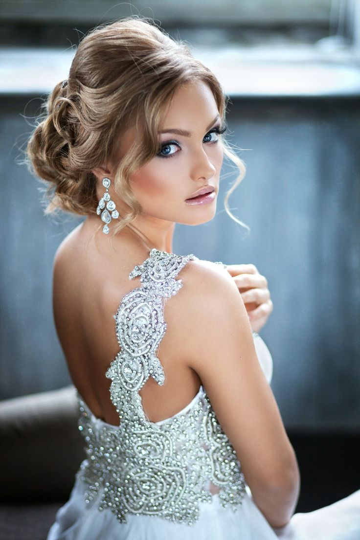 Medium hairstyles bridesmaid 2 - Effortlessly Sophisticated Wedding Hairstyle Inspiration New