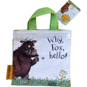 The Gruffalo Mini Tote Bag (Green and Multi-coloured): Amazon.co.uk: Toys & Games