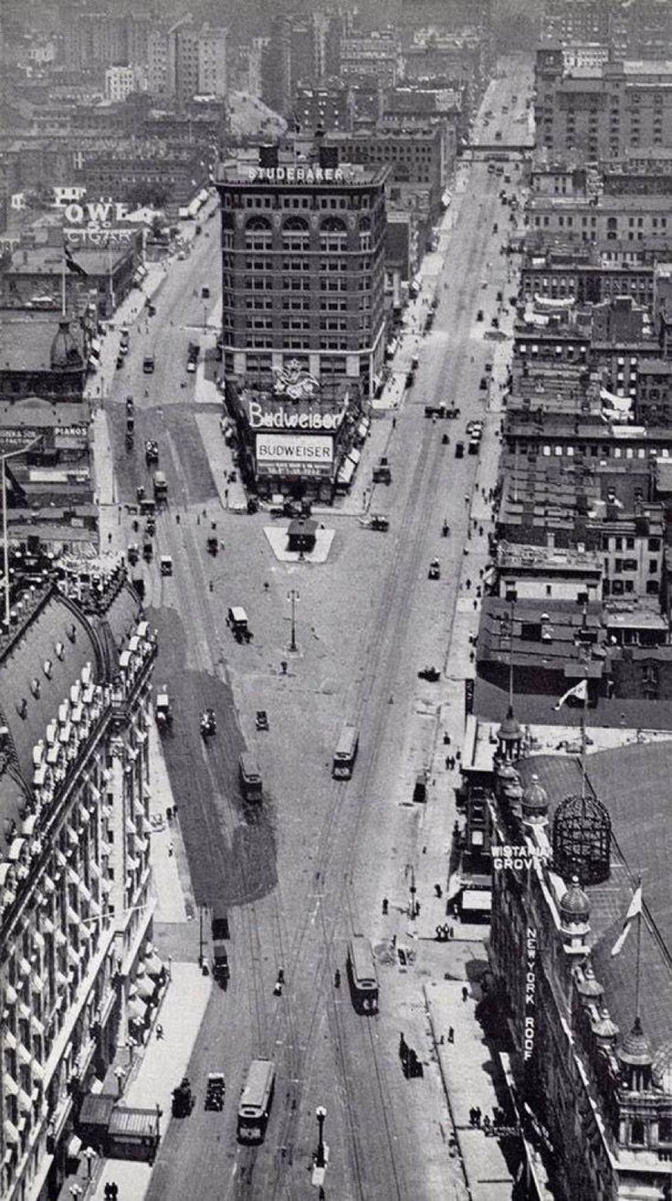 Times Square in the 1900's.
