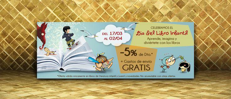 Diseño de banner Día del Libro Infantil 2015 | Dolphin Tecnologías