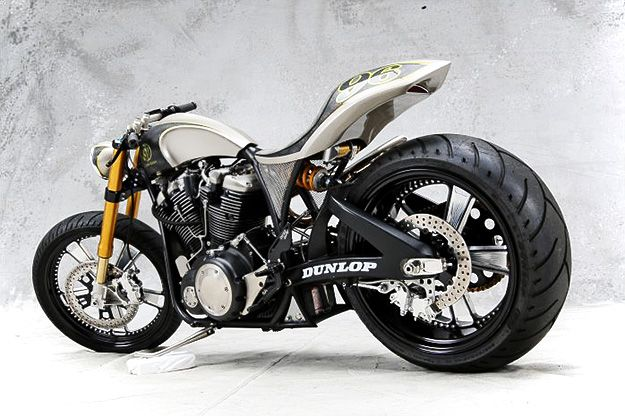 "Roland Sands ""Renstar"".  A nice marriage of road hog vs. road race asythetics and bike geometry."