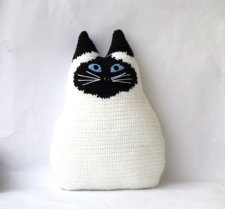 Personalized cat - cat pillow by your own design - stuffed. $55.00, via Etsy.