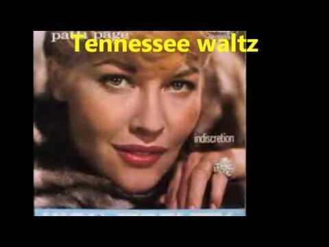 ▶ 【HD】Patti Page - Tennessee Waltz (Lyrics on Screen) - YouTube