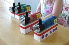 Silly Eagle Books: make your own thomas the train toys
