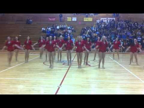 Bountiful High School Drill Team. This is like... ULTIMATE GOAL for Rangerettes. Haha.
