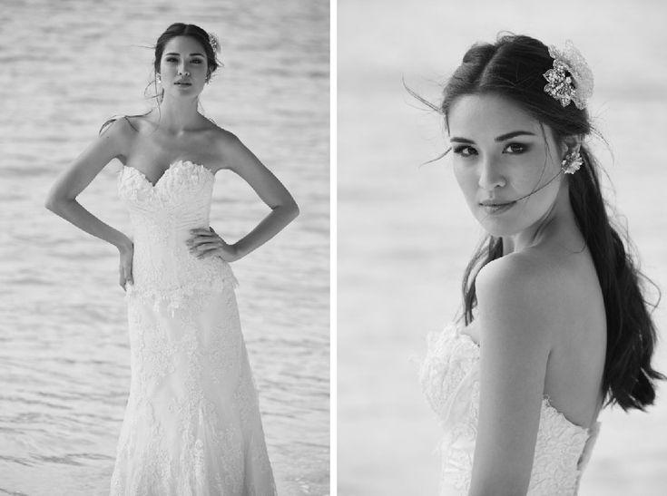 Vestido de noiva para casar na praia - Editorial de moda Inesquecível Casamento
