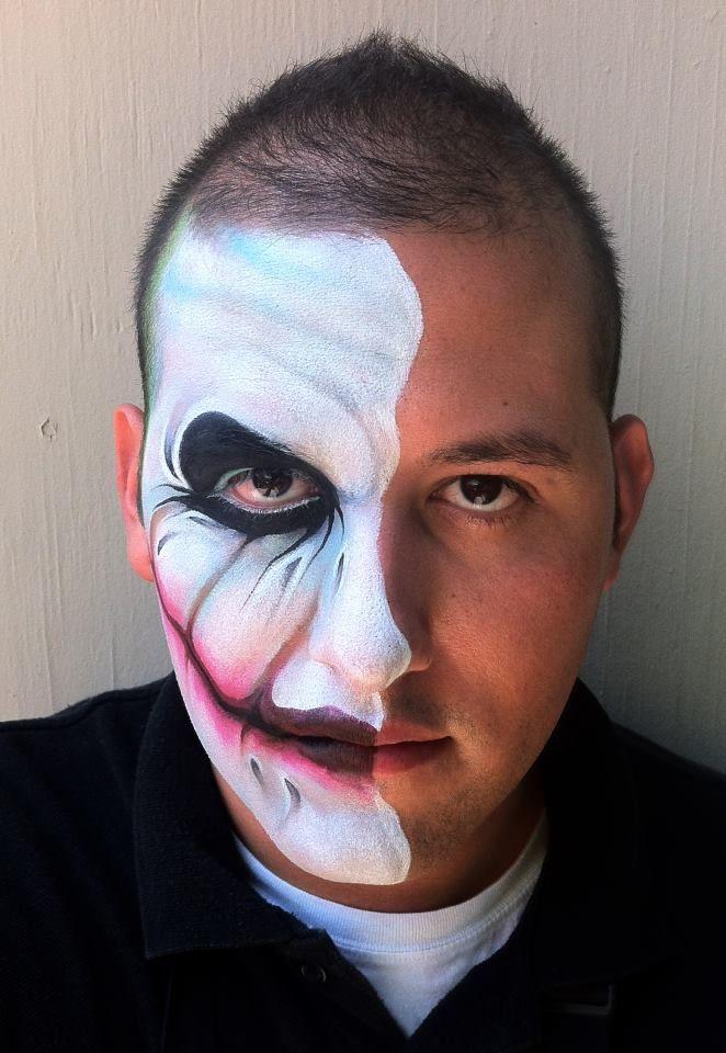 Face painter, Ronnie Mena Art, Studio City, LA,CA ♥'d by http://makeupartistrycairns.com.au