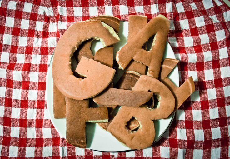 pancakes- letters www.behance.net/SaraSun