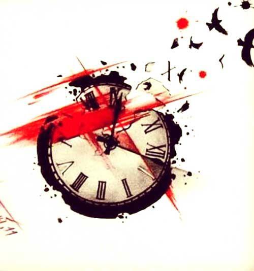 Trash Polka Clock Tattoo jetzt neu! ->. . . . . der Blog für den Gentleman.viele interessante Beiträge  - www.thegentlemanclub.de/blog