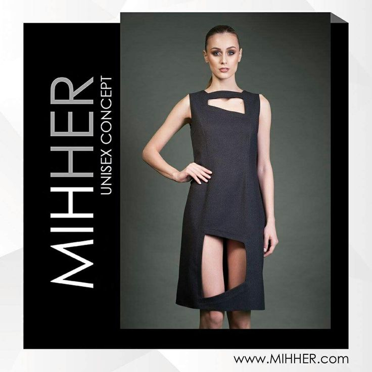 Comfortable and cool dress for any holiday .Available in other colors. www.mihher.com #minimalist