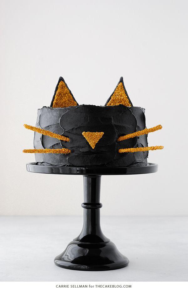 Black Cat Cake | Carrie Sellman for TheCakeBlog.com