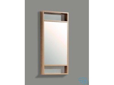 Meuble miroir salle de bain design Cerisier DÉSIRADE 49€