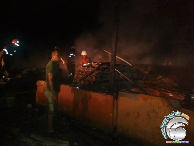 Diduga Berasal Dari 'Gempa', Tiga Bangunan IAIN Ludes Terbakar