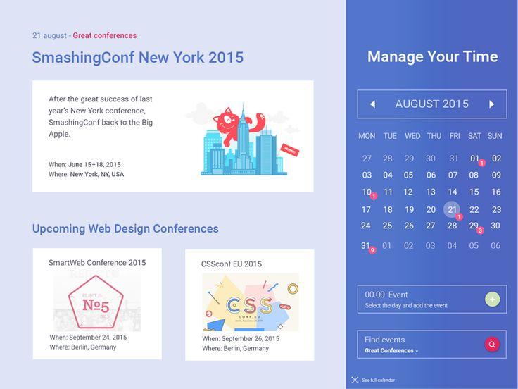 Full Calendar Events by Madalina Taina