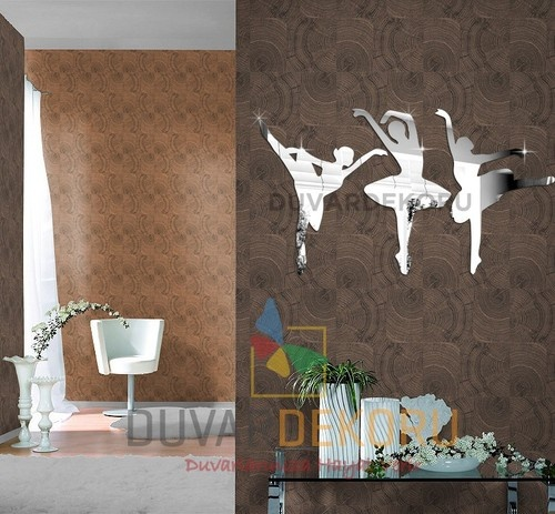 Captivating Mirror Wall Clock Rings For All Every Home Wall Decoration Ballerinas | EBay Pictures