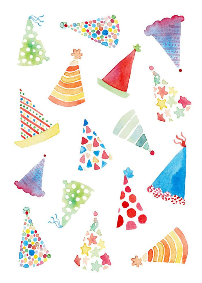 Felicity French - FF birthday party hats.jpg