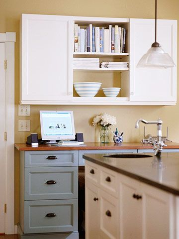 16 best images about kitchen office on pinterest base cabinets printers and drawers. Black Bedroom Furniture Sets. Home Design Ideas