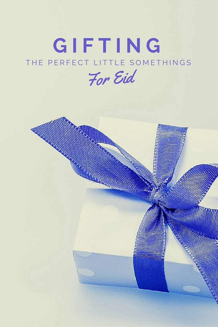 Find that perfect gift from the comfort of your home. These creative, homemade gifts are perfect for Eid!