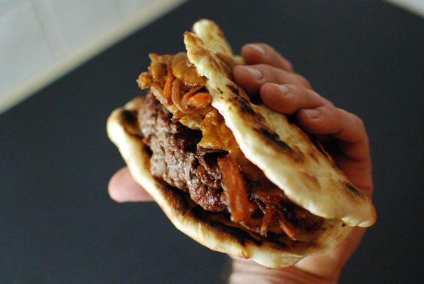 oh. yum. indian smokehouse burger.