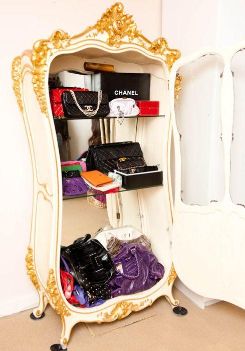 17 Best Images About Purses Handbag Storage Ideas On